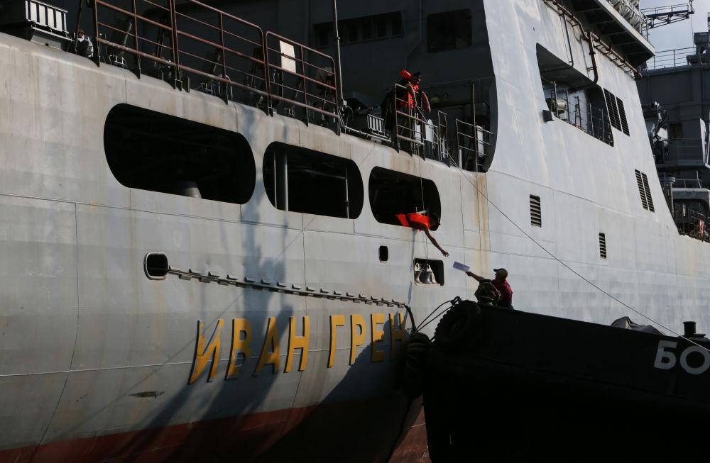 İvan Gren tipi büyük uçak gemisi
