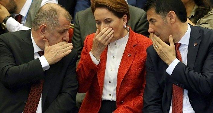 Ümit Özdağ - Meral Akşener - Sinan Ogan