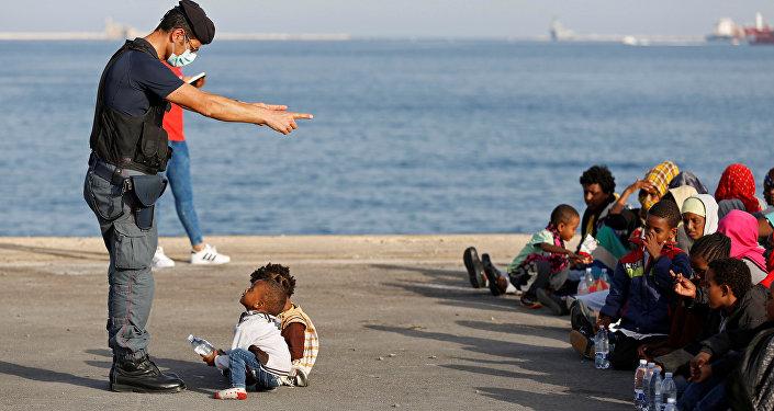 Sicilya- sığınmacı
