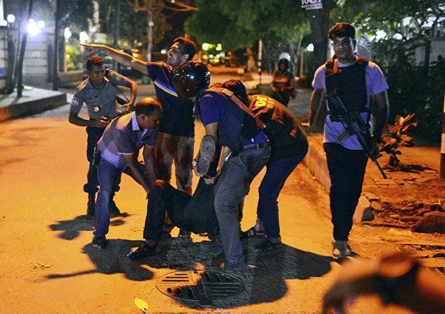 Bangladeş'te saldırı