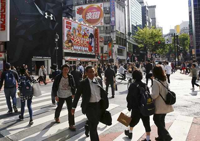 Tokyo'nun alışveriş bölgesi Shinjuku