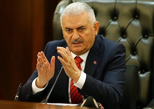 Başbakan Binali Yıldırım, Çankaya Köşkü'nde Bakanlar Kurulu toplantısının ardından gazetecilere açıklamalarda bulundu.