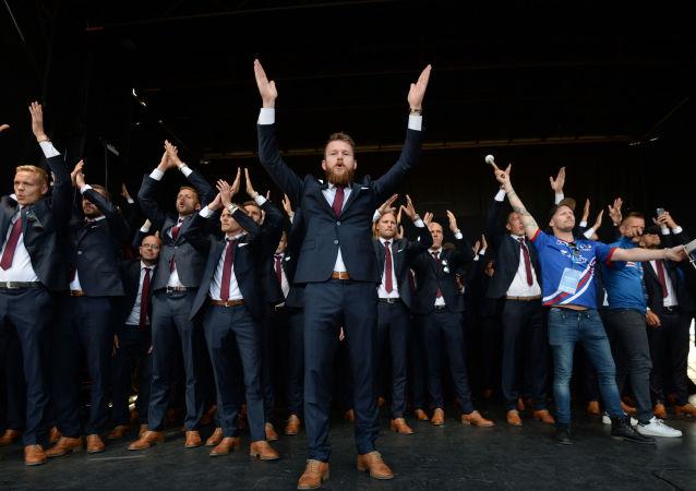 İzlanda Milli Takımı evine döndü