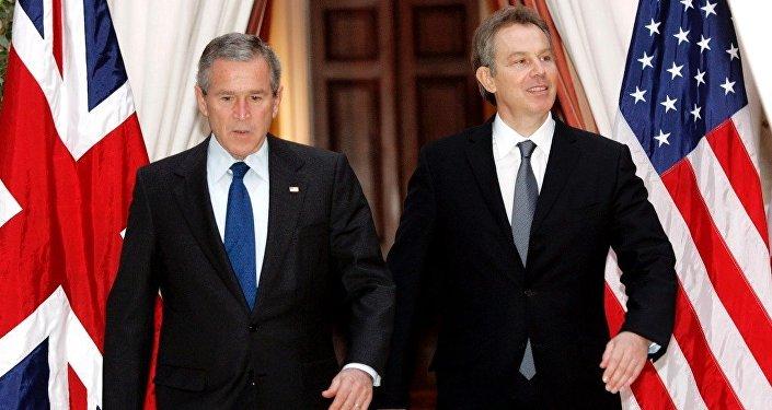 George Bush ve Tony Blair