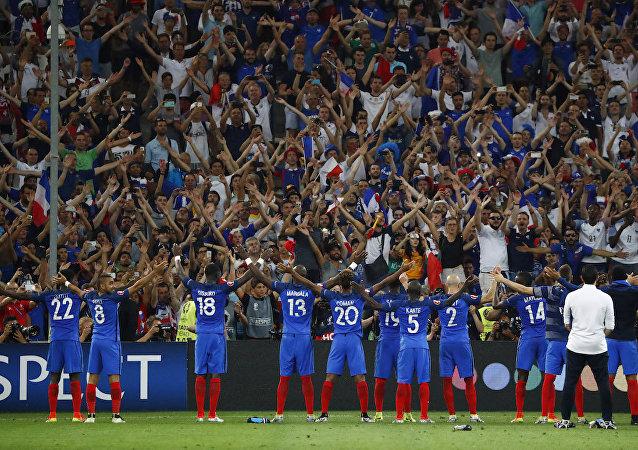 Fransa, EURO 2016'da finale yükseldi.