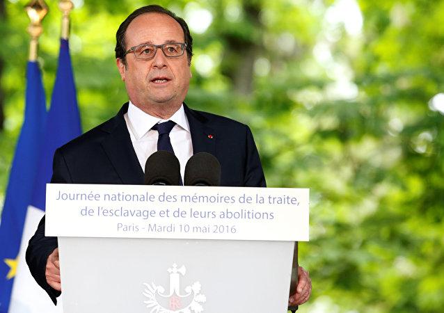 Fransa Cumhurbaşkanı François Hollande
