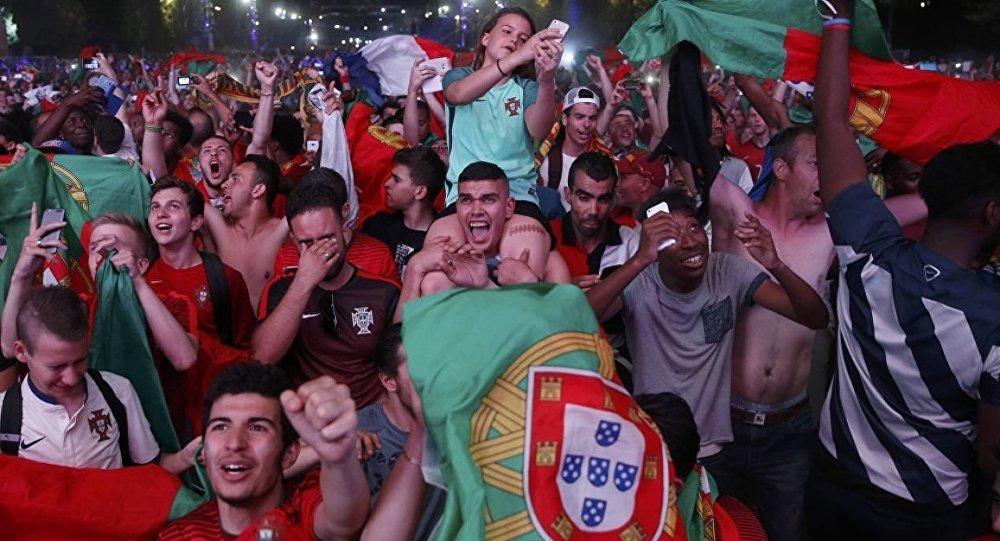 Portekiz EURO 2016 kutlamaları