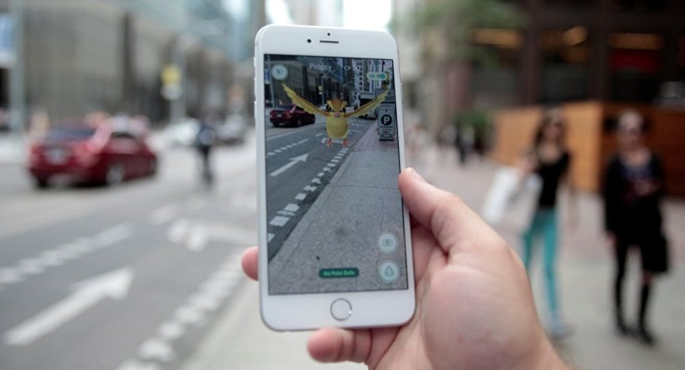 Pokemon Go oyunu