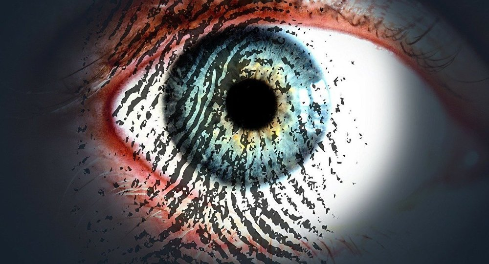 Göz tarama parmak izi veri