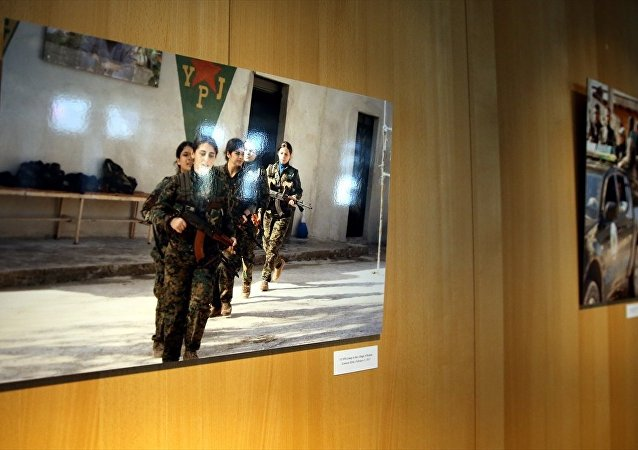 AP'deki tartışmalı PKK/PYD sergisi