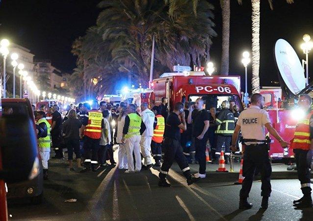 Fransa Nice'teki terör saldırısı