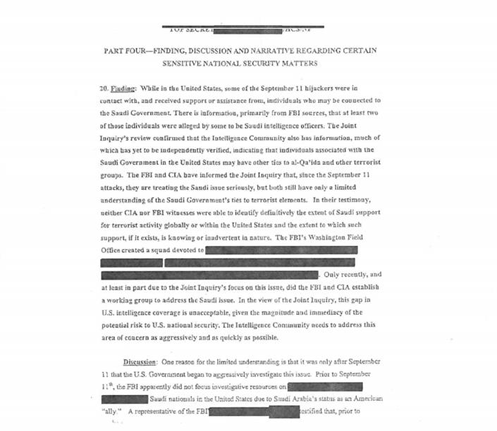 Yayınlanan belgelerin ilk sayfası