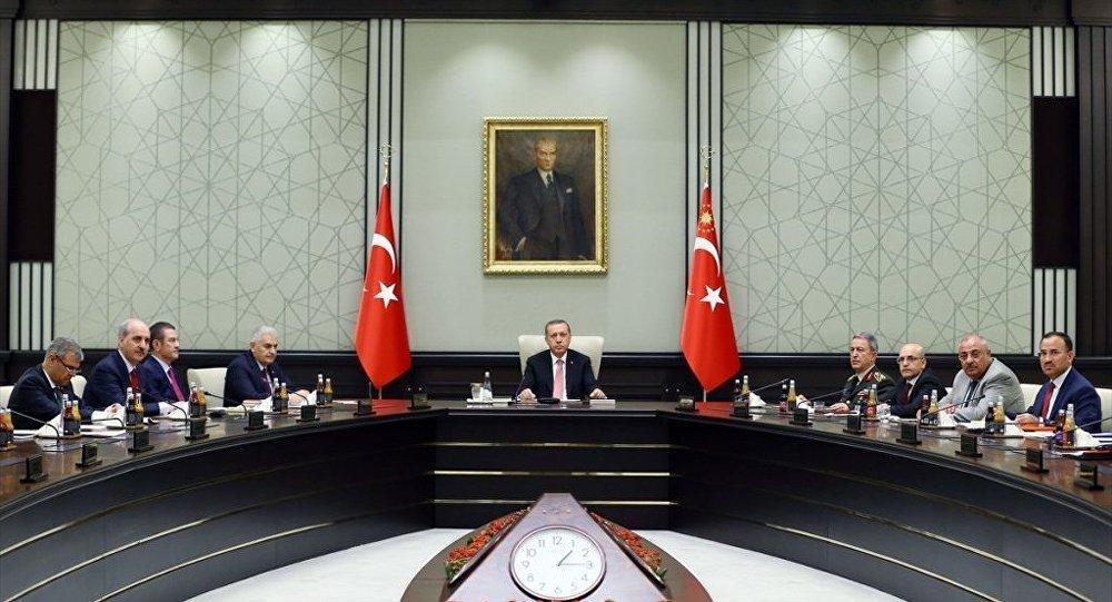 15 Temmuz darbe girişiminin ardından yapılan ilk Milli Güvenlik Kurulu (MGK) sona erdi.