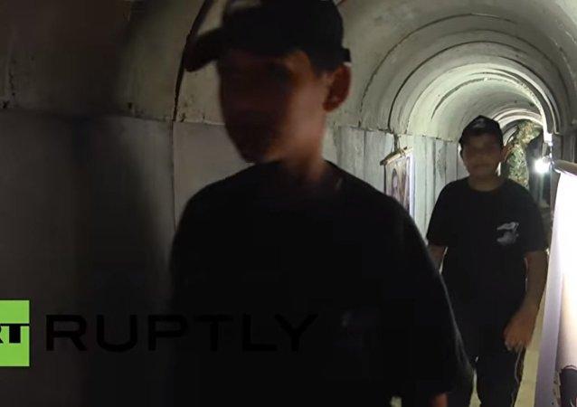 Hamas tünellerini halka açtı / Video haber