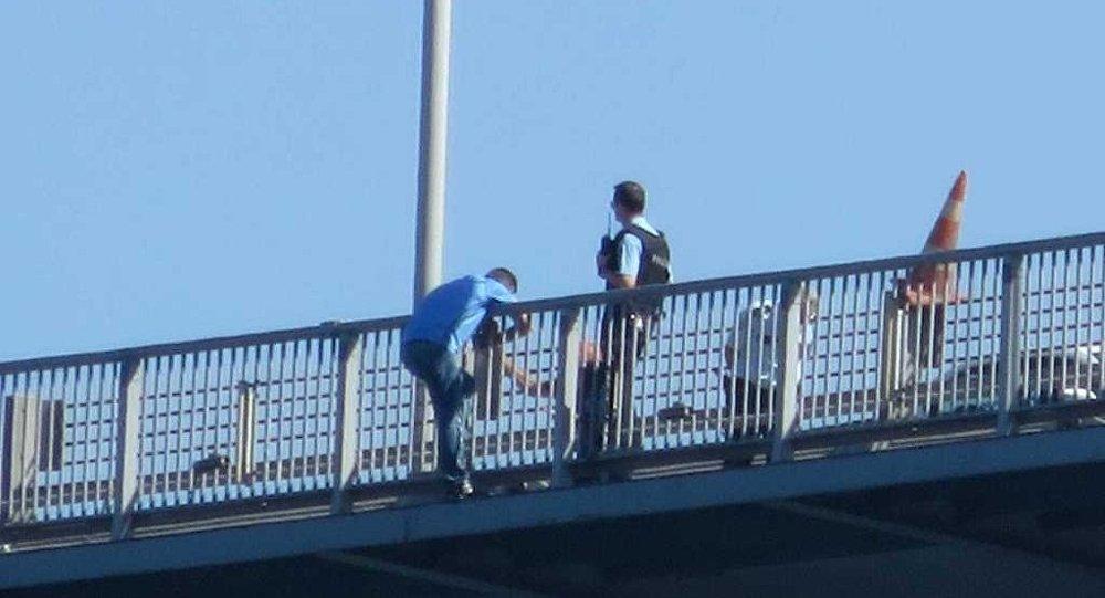 Kuleli Askeri Lisesi öğretmeni intihar için Boğaziçi Köprüsü'nde