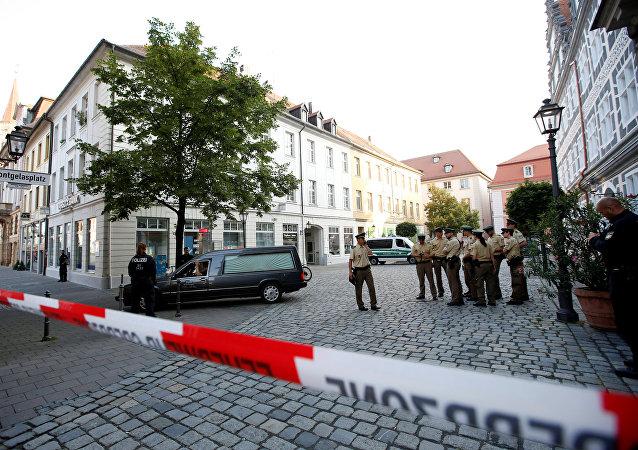 Almanya'nın Ansbach kentinde terör saldırısı