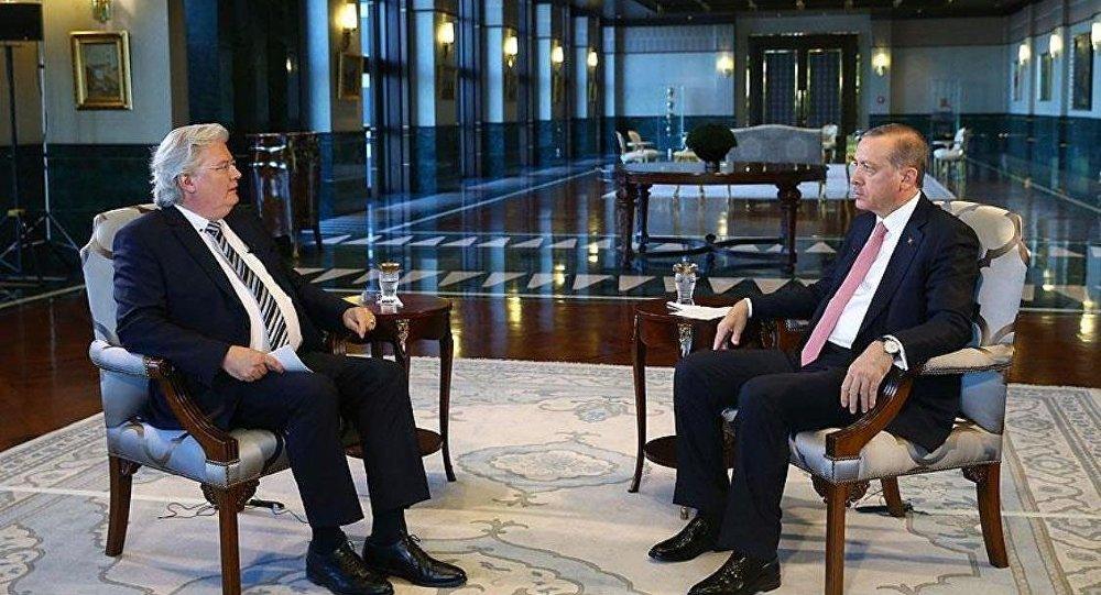 Cumhurbaşkanı Recep Tayyip Erdoğan, Alman ARD Televizyonu'na mülakat verdi