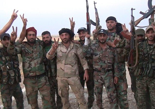 Suriye ordusu stratejik boru hattını IŞİD'den geri aldı - 2