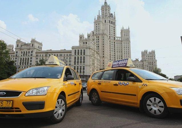 Taksi Rusya