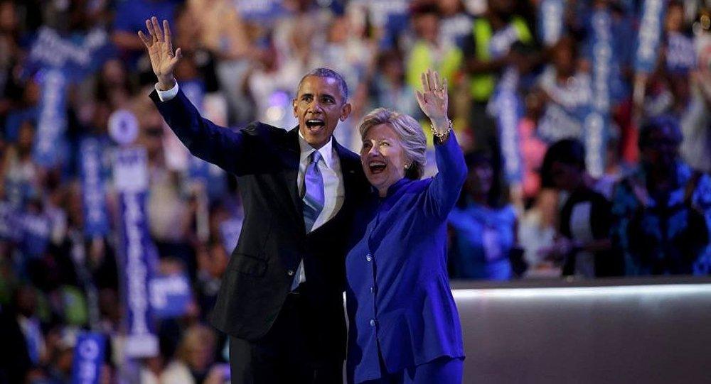 Hillary Clinton -  Barack Obama
