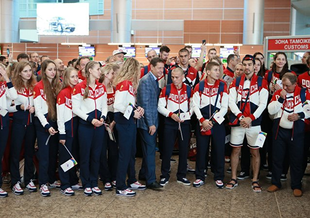 Rio'ya giden Rus sporcular