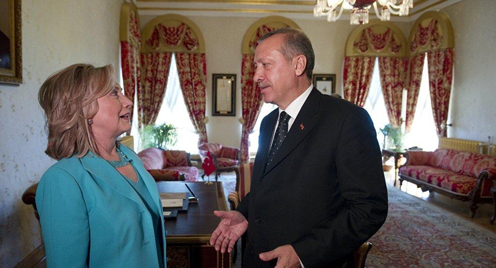 Hillary Clinton - Recep Tayyip Erdoğan