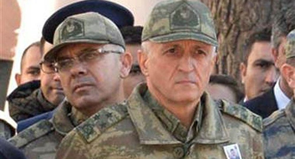 TSK'dan ihraç edilen 7. Kolordu Komutanı Korgeneral Yılmaz