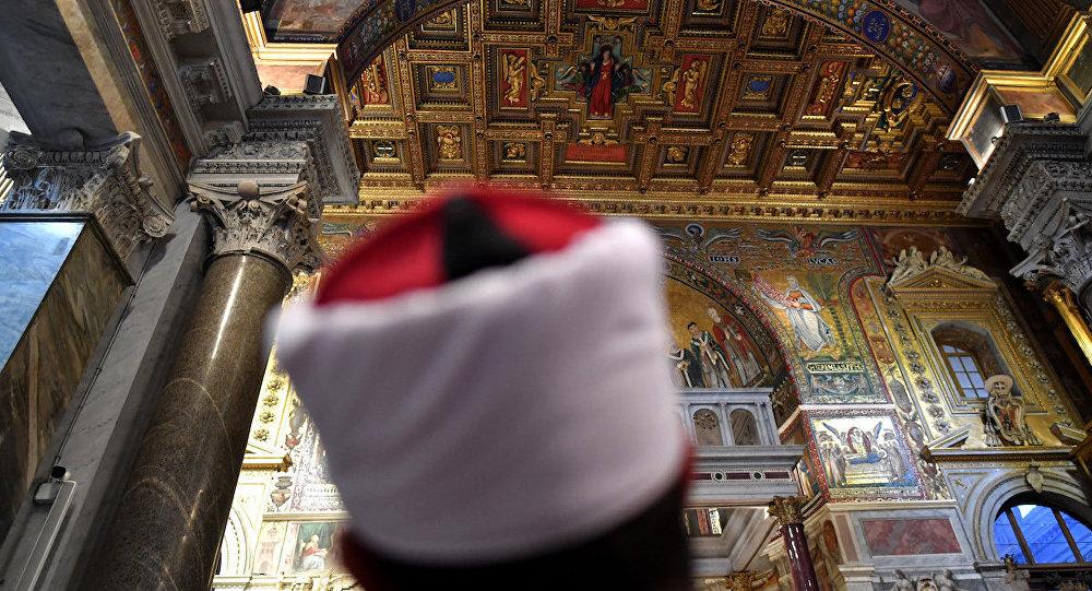 İtalya'daki Müslümanlar pazar ayinine katıldı.