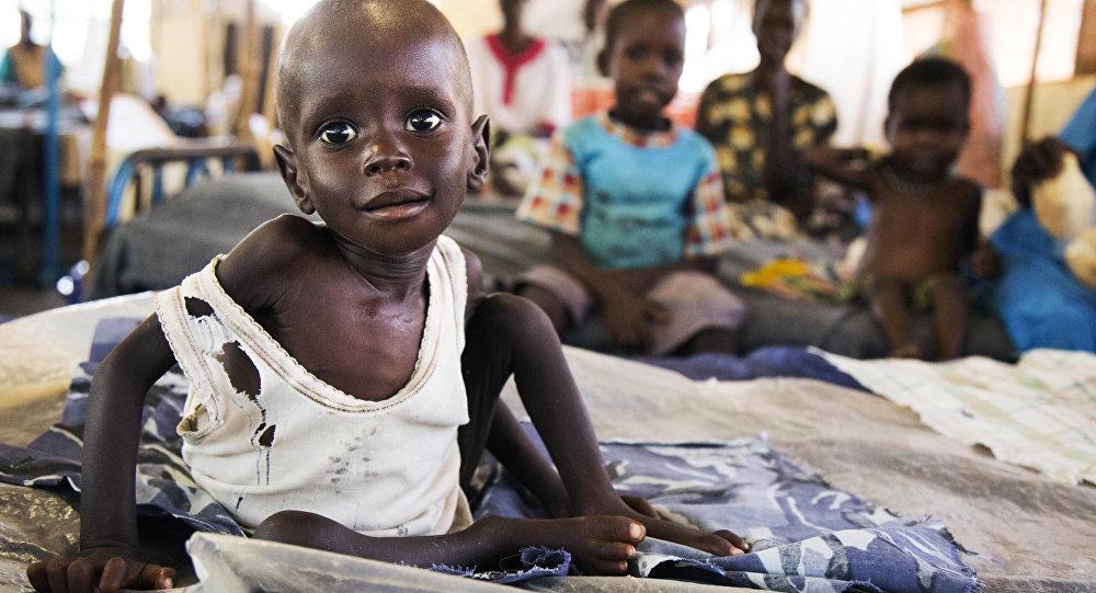Afrika / Çocuk / Açlık