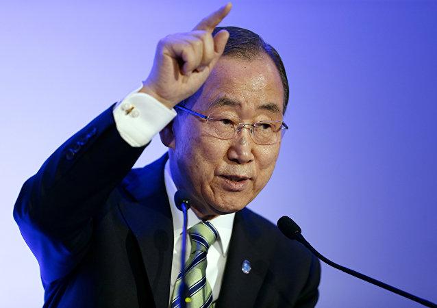 BM Genel Sekreteri Ban Ki Moon