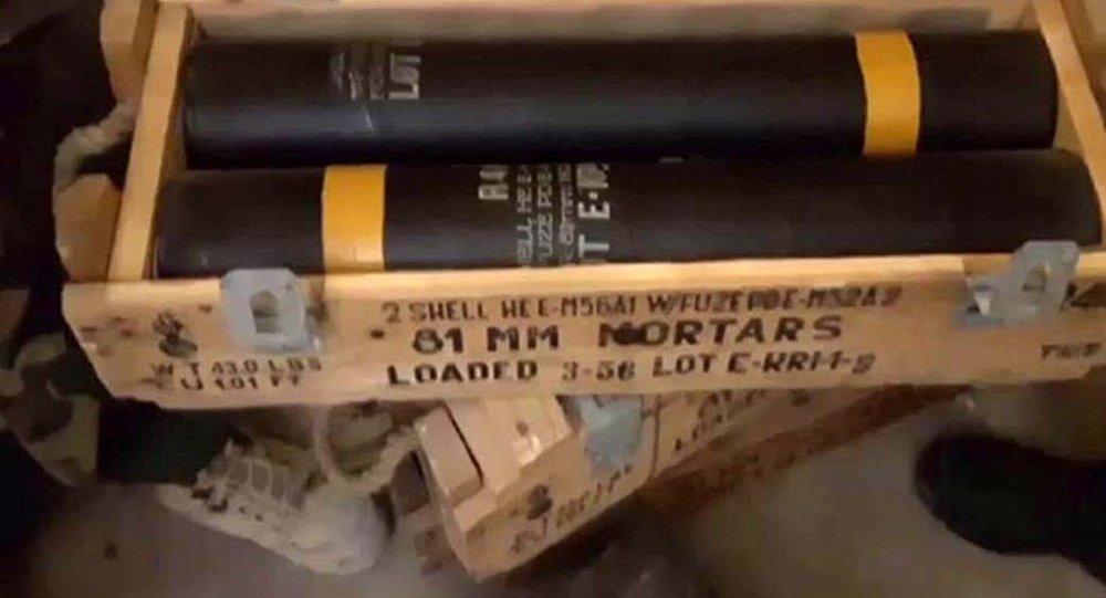 Halepte-muhaliflere-ait-ABD-yapımı-ağır-silahlar-keşfedildi