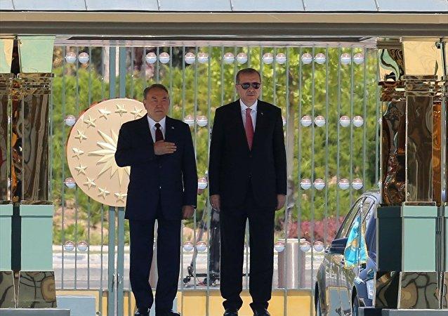 Erdoğan Nazarbayev