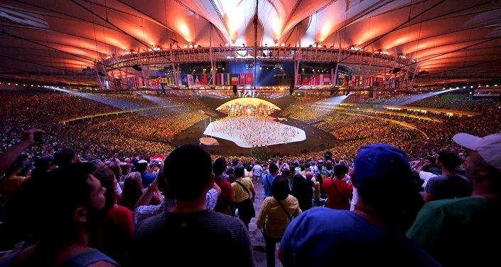 Rio Olimpiyat Oyunları açılış