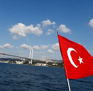 Türk bayrağı - İstanbul boğazı