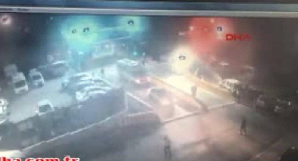 TRT binasını basan polislere gözaltı