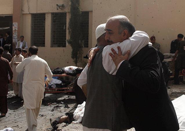 Pakistan'ın Kuetta kentinde patlama