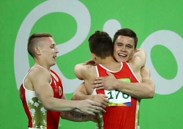 Rusya artistik cimnastik erkekler takımı