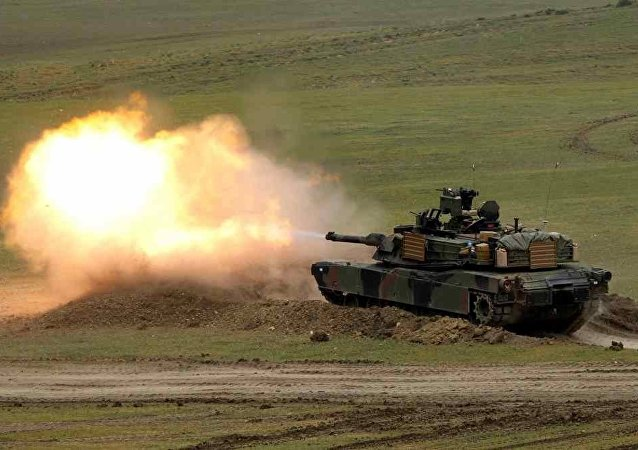 ABD Abrams tank