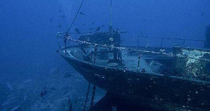 batık gemi
