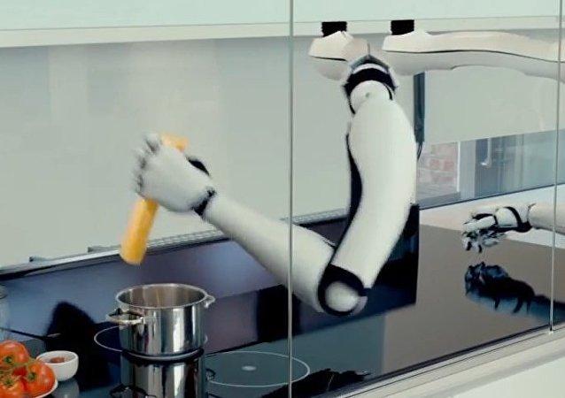 Dünyanın ilk robotik mutfağı