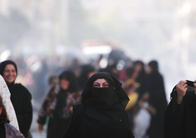 IŞİD esaretinden kurtulmasının ardından Menbiç.