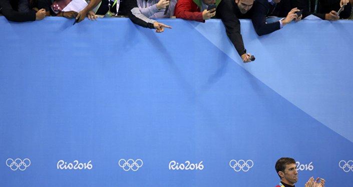 ABD'li yüzücü Michael Phelps