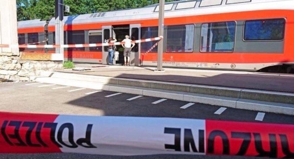 İsviçre'de saldırının yaşandığı tren