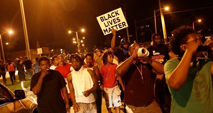 ABD'nin Wisconsin eyaletine bağlı Milwaukee kentindeki polis şiddeti protesto edildi