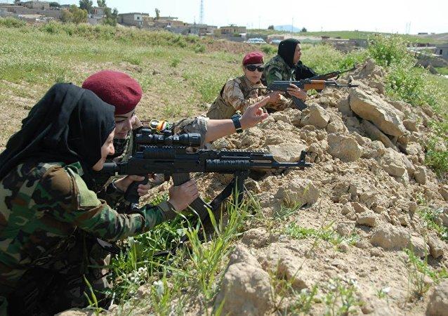 Peşmerge, Musul'a hazırlık operasyonu düzenledi