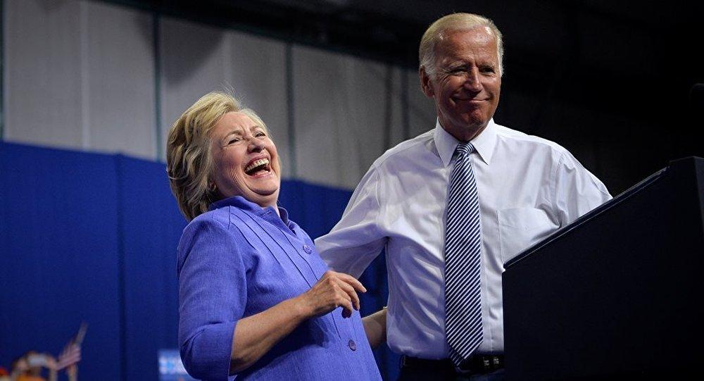 Hillary Clinton - Joe Biden