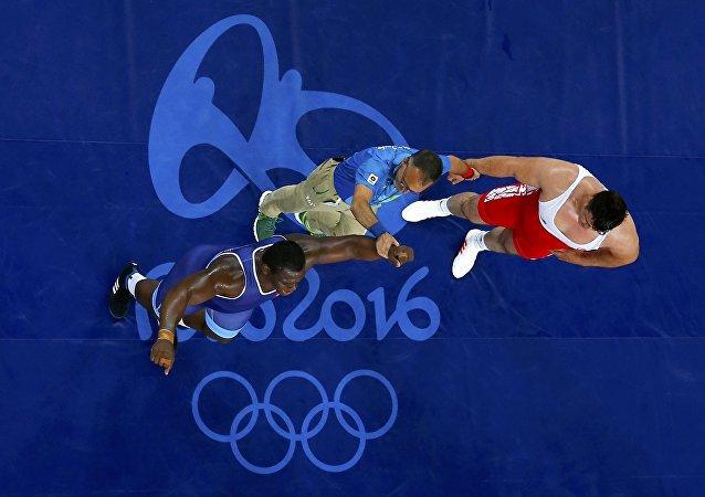 Rıza Kayaalp - Mijaín López / Rio Olimpiyat Oyunları