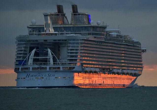 Dünyanın en büyük yolcu gemisi 'Harmony of the Seas'