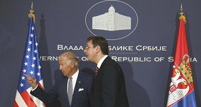 Aleksandr Vuçiç - Joe Biden