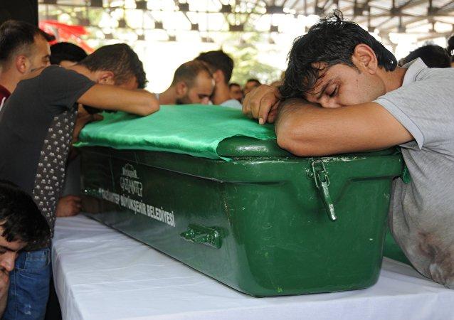Gaziantep saldırısı / cenaze töreni